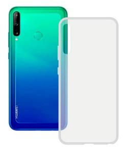 Capa para Telemóvel Huawei Y7P KSIX Flex Tpu Transparente
