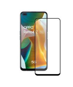 Protetor de vidro temperado para o telemóvel Oppo Reno 4Z 5G KSIX Full Glue 2.5D