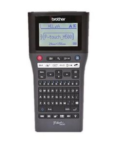 Máquina Rotuladora Elétrica Portátil Brother PTH500ZX1