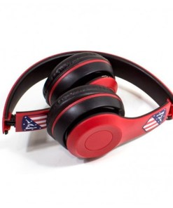 Auriculares de Diadema Dobráveis Atlético Madrid Bluetooth Vermelho