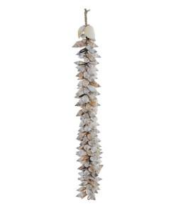 Enfeites Dekodonia Conchas Colar (8 x 8 x 58 cm)