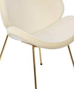 Cadeira de Sala de Jantar Dekodonia Poliéster Metal (80 x 48 x 80 cm)