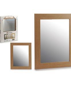 Espelho de parede Madeira (39 x 49 cm)