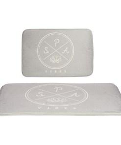 Tapete de banho Cinzento (40 x 60 cm)