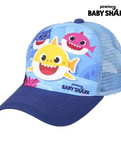 Boné Infantil Baby Shark Azul (51 cm)
