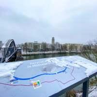 Mülheim an der Ruhr - erster Schnee 2021