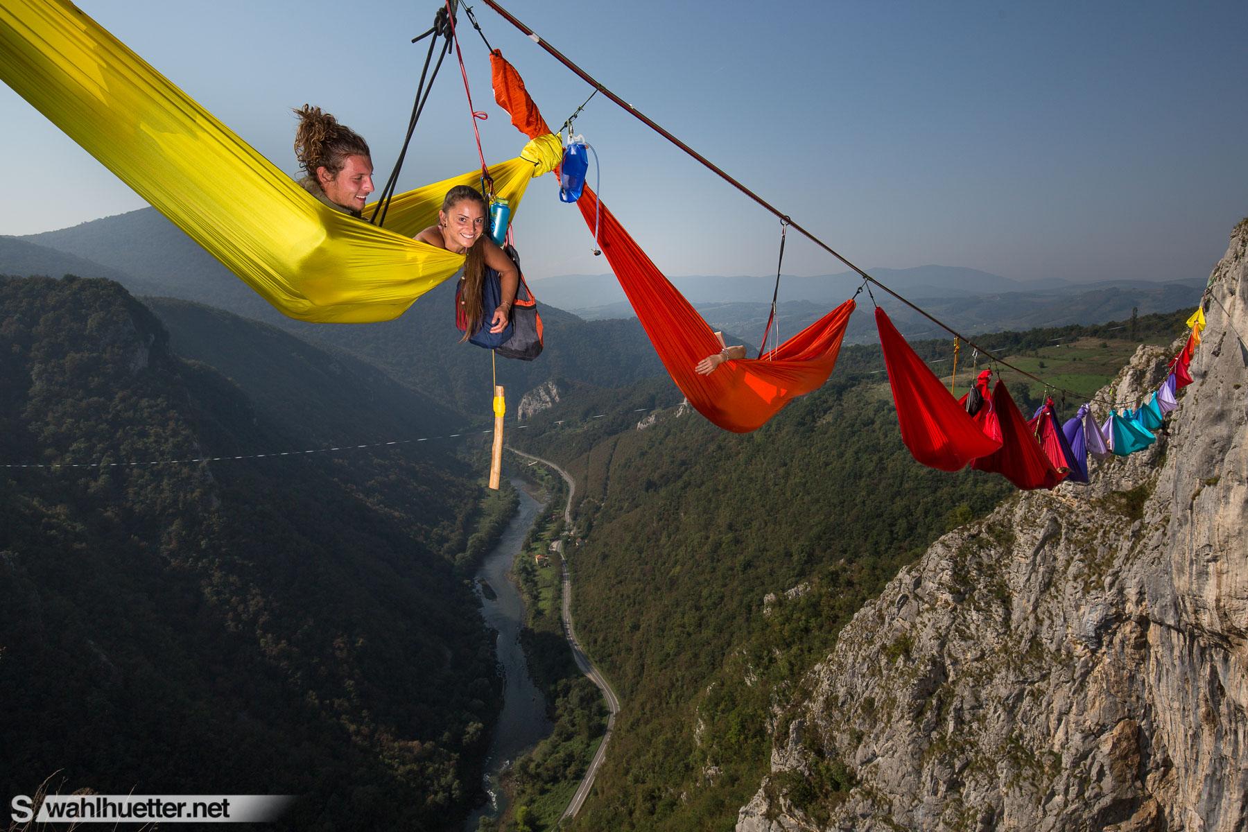 The Hammock Caravan goes Bosnia  Wahlhuetter