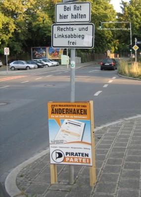 Bundestagwahlkampf 2009 (Ohne Worte)