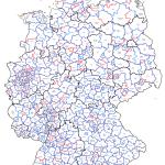 Wahlkreiseinteilung zur Bundestagswahl 2017