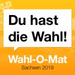 Wahl-O-Mat zur Landtagswahl 2019 in Sachsen ist online!