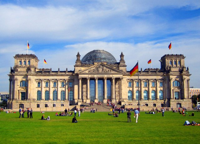 Deutscher Bundestag in Berlin