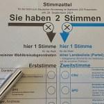 Stimmzettel 2021