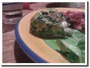 No-potato Spanish omelette