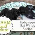 Halloween Bat Wings Recipe