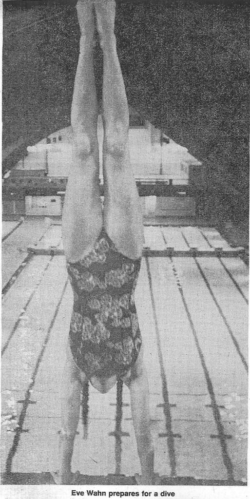 Eve - handstand dive 1977