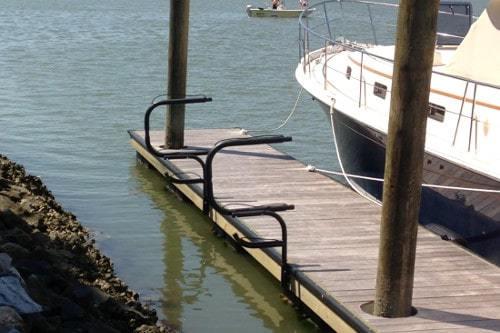 Wahoo Boat Docks Kayak Rack