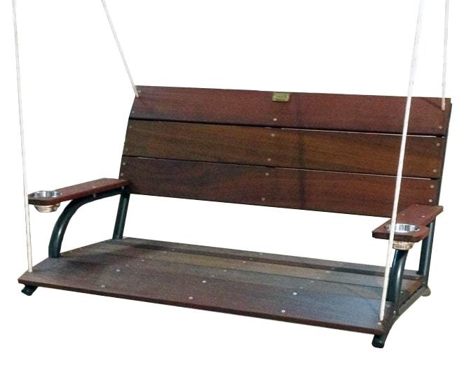 Aluminum Boat Benches : Wahoo boat docks dock swing swinging bench