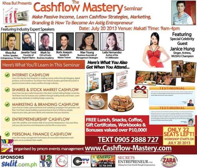 Cashflow Mastery Seminar