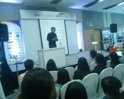 Philippine SME Business Expo 2013 at SM Aura.