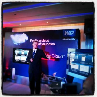 Simon Whitford, Senior Regional Marketing Manager APAC at WD, a Western Digital company.