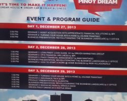Work at Home Pinas at DRIVEN Pinoy Dream Property & Lifestyle Event 2013