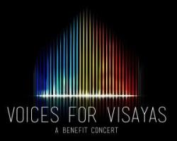 """""""Voices for  Visayas"""": A Benefit Concert for everybody affected  by  Yolanda, brought to you by SMART Communications and Coca-Cola Bottlers Philippines"""