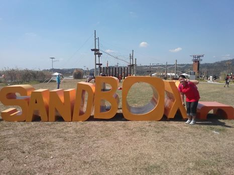 The Sandbox, the playground for both kids and the kids at heart in ALVIERA Porac, Pampanga