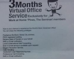 Exclusive for WAHPINAS Seminar attendees from VOFFICE