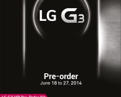 Pre-Order promo your LG G3 now and be 1st in line