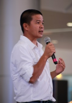 IPAC 2014 Director and Chief of Paragliding in South East Asia, Buko Raymundo