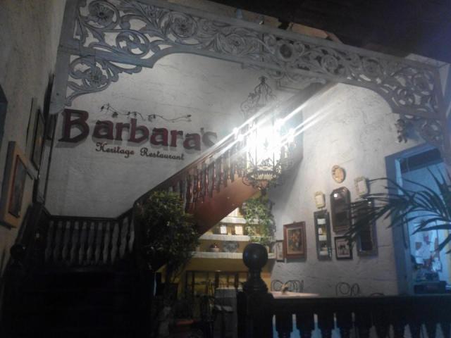 Barbara's Restaurant, Intramuros Manila