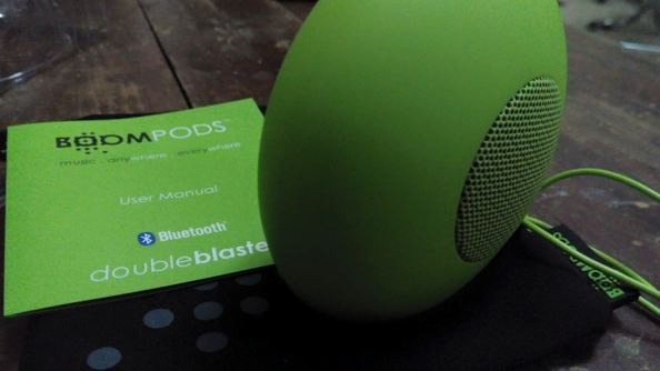 Boom Pods Bluetooth Speaker