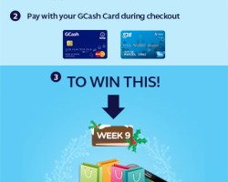 GCash #12WeeksofChristmas Raffle Promo – Week #9, Win 20,000 for an online shopping spree