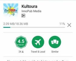 Travel and find places to go to with the KulTOURa app