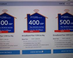 Globe ups the Ante in their Home Broadband Plans