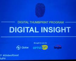 Facebook and Globe Telecom has partnered up to increase the reach of the Digital Thumbprint Program