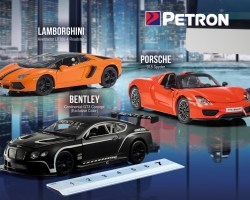 Petron Scale Size models are back for 2017, Bentley GT3 Continental Concept, Lamborghini Aventador and Porsche 918 Spyder