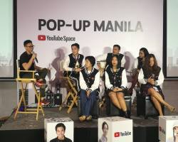 Youtube encourages the growth of Local Content Creators with the Pop Up Space Manila