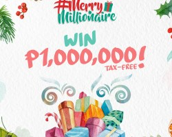 Be a Merry Millionaire with Paymaya!