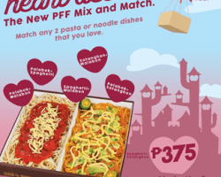 Sharing is caring.. and on Valentines day, show how much you care with PFF Mix and Match combo.