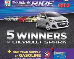 Want a new car?join 7-elevens new year new ride promo
