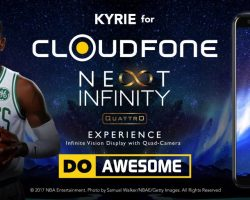 Kyrie Irving partners with Cloudfone!