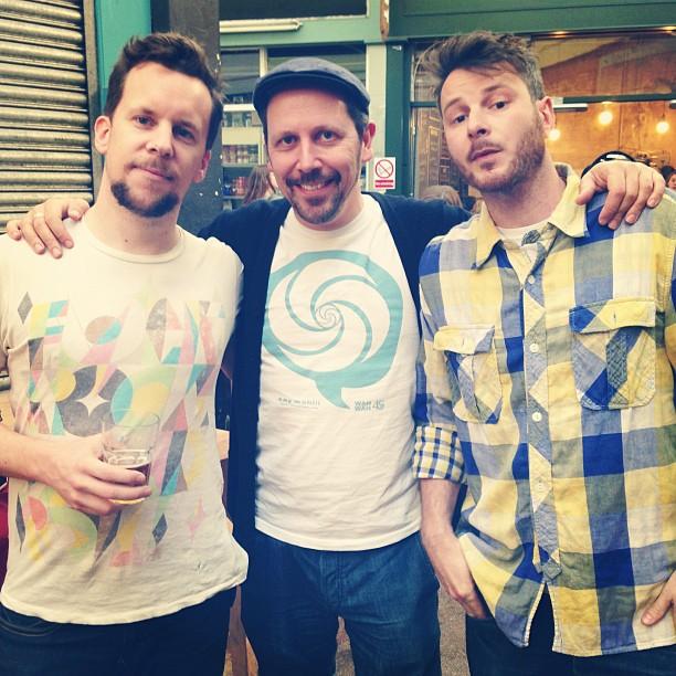 Adam, Dom and Neil