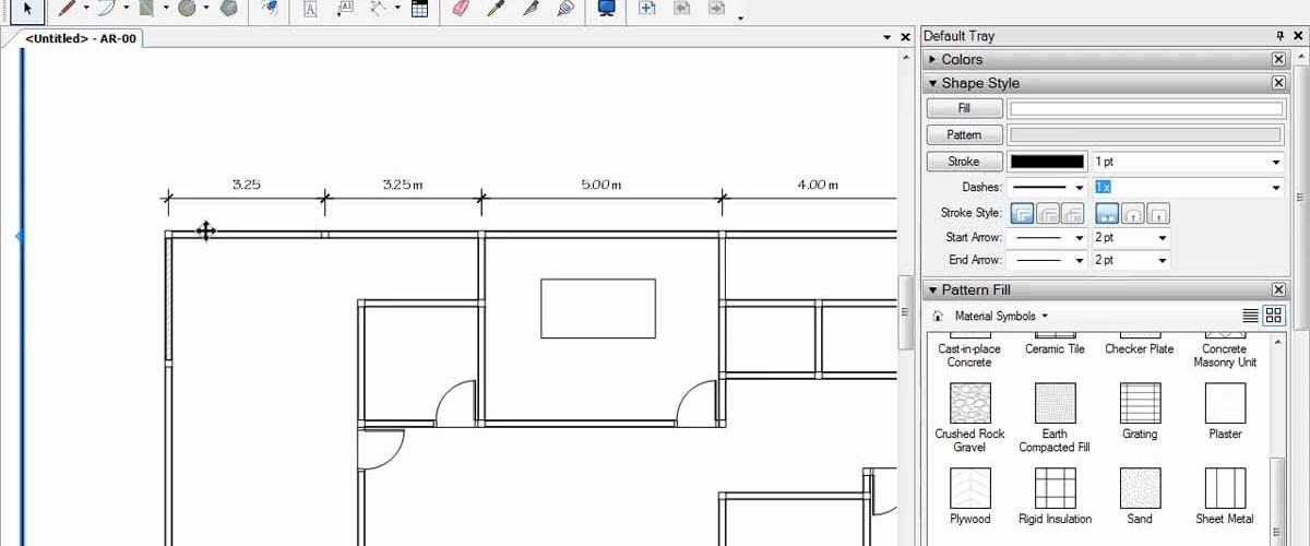 Membuat Denah Menggunakan LayOut SketchUp