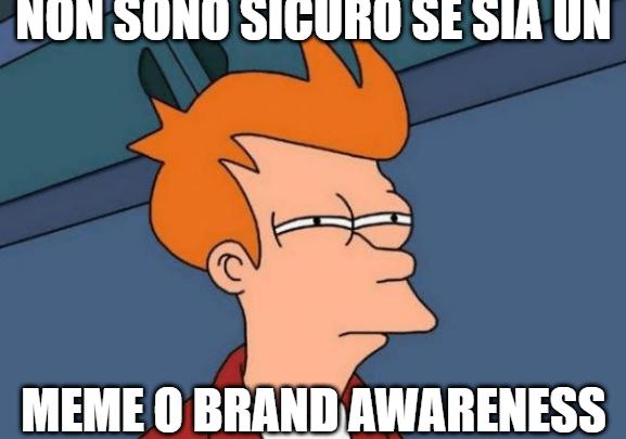 brand awareness meme