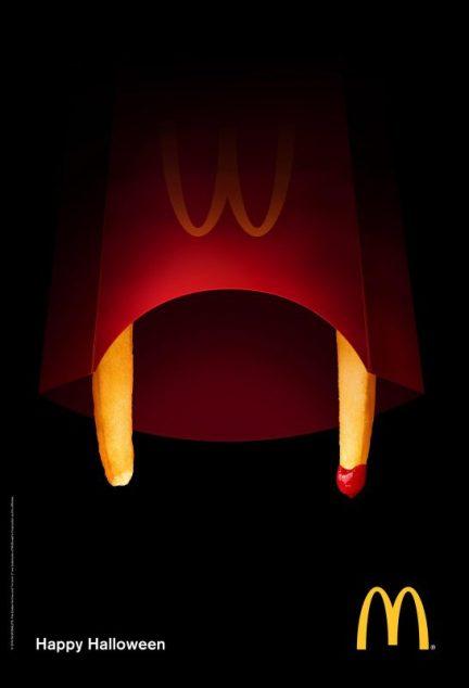 marketing per halloween McDonald's