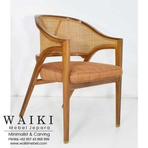 Kursi Dunbar Edward Arm Chair Rotan waiki mebel jepara central java indonesia