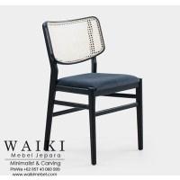 Livi Cane Dining Chair dari waiki mebel jepara central java indonesia