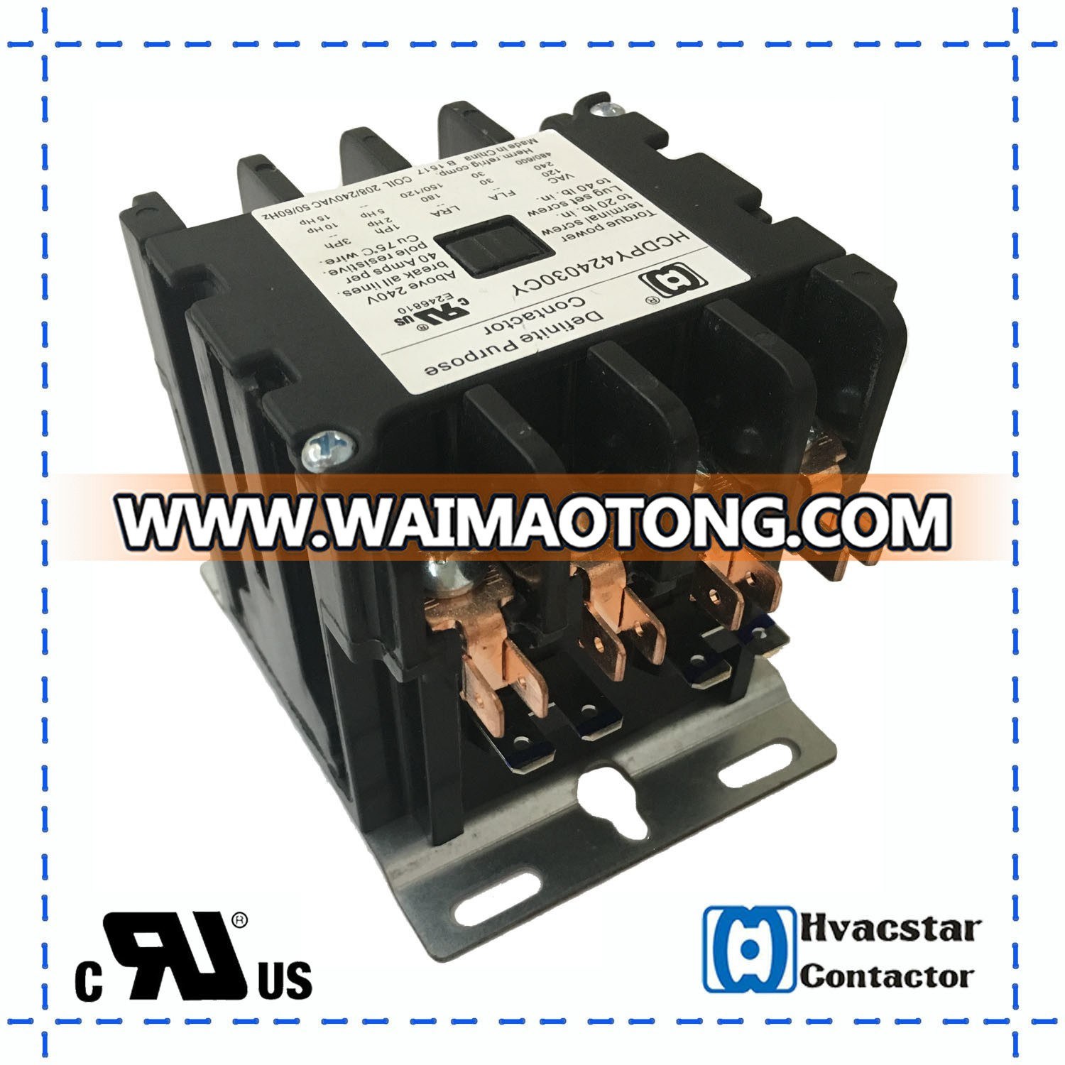 hight resolution of magnetic contactor hcdpy424030 ul approval easy install