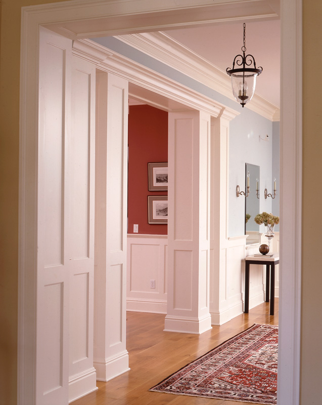 Paneled Columns and Ceilings - Wainscot Solutions, Inc.